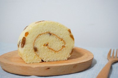 葡萄干毛巾蛋糕卷