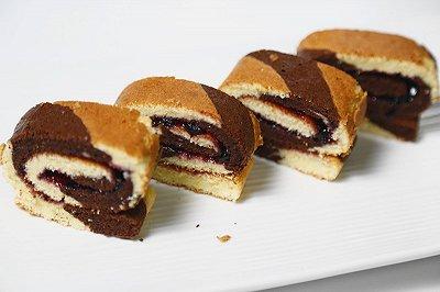 双色蛋糕卷(烤箱做蛋