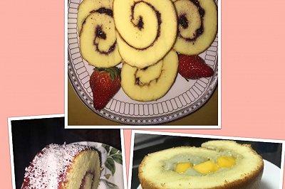 蛋糕卷(初级简单)