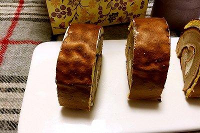 虎皮可可蛋糕卷