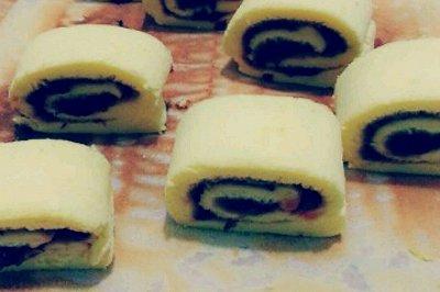蛋糕卷(配蔓越莓馅)