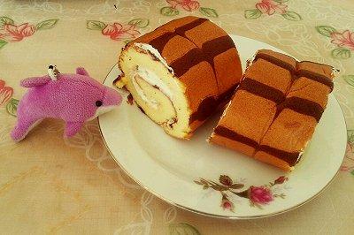 戚风千叶蛋糕卷