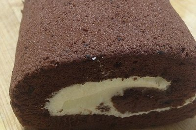 可可蛋糕卷(烫面版)
