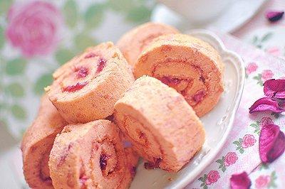 玫瑰蛋糕卷