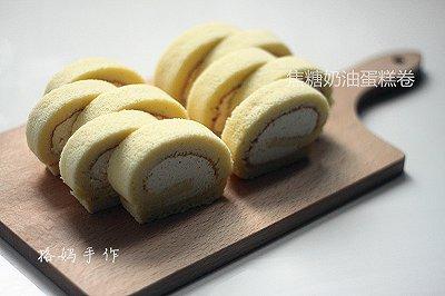 焦糖奶油蛋糕卷