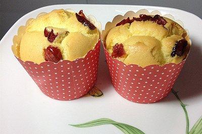 蔓越莓杯子蛋糕