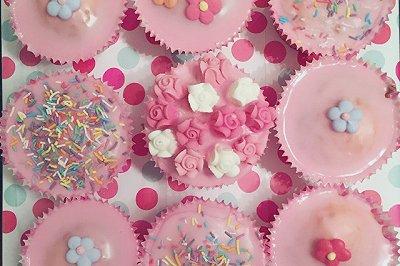 翻糖杯子蛋糕