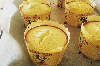 柠檬纸杯蛋糕