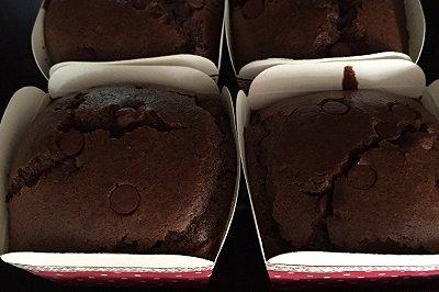 微甜巧克力纸杯蛋糕