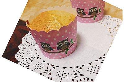 蜂蜜牛奶纸杯蛋糕(马