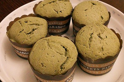 面包机版抹茶马芬