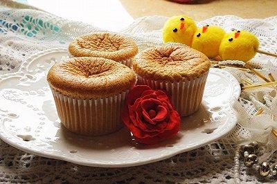 红糖戚风杯子蛋糕