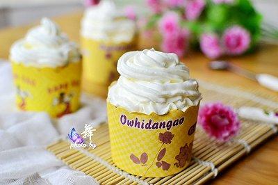 奶油杯蛋糕
