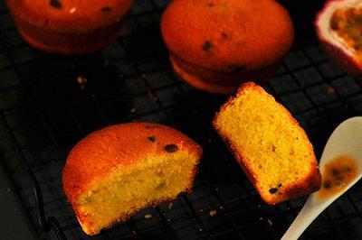 百香果杯子蛋糕
