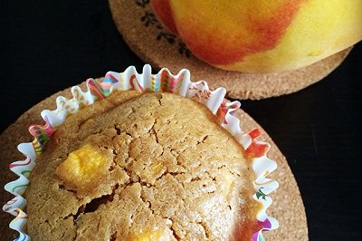 黄桃杯子蛋糕