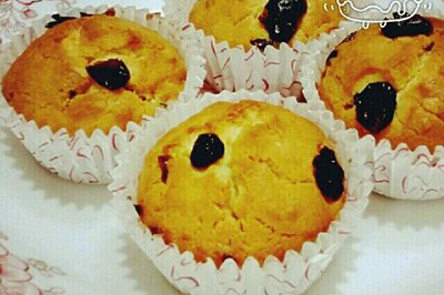 蔓越莓麦芬蛋糕(零失