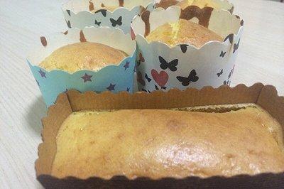 蜂蜜马芬杯蛋糕